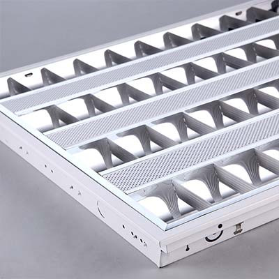 GRILL Quadruple Troffer Light