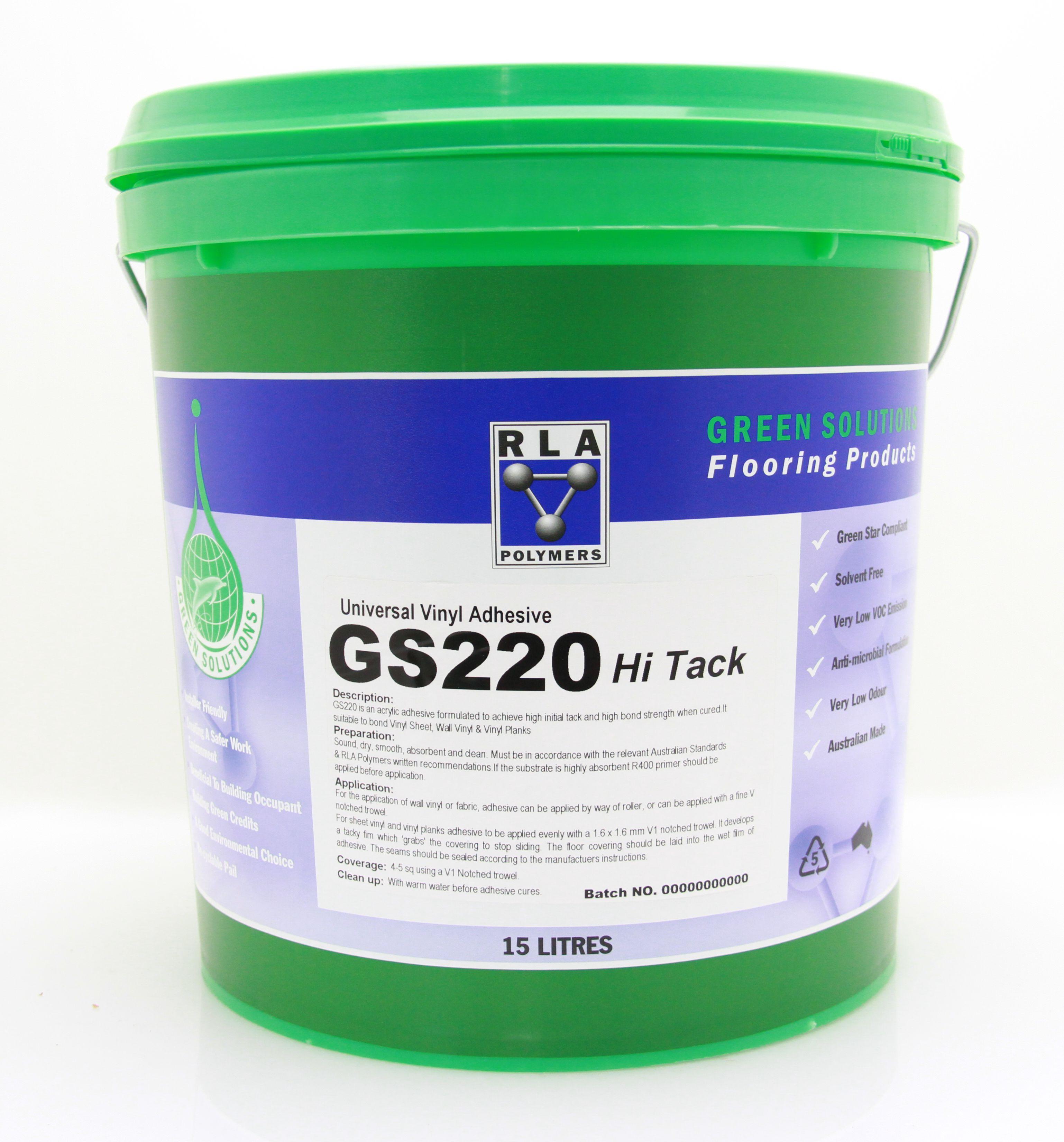 GS220 Hi-Tack Universal Vinyl Adhesive