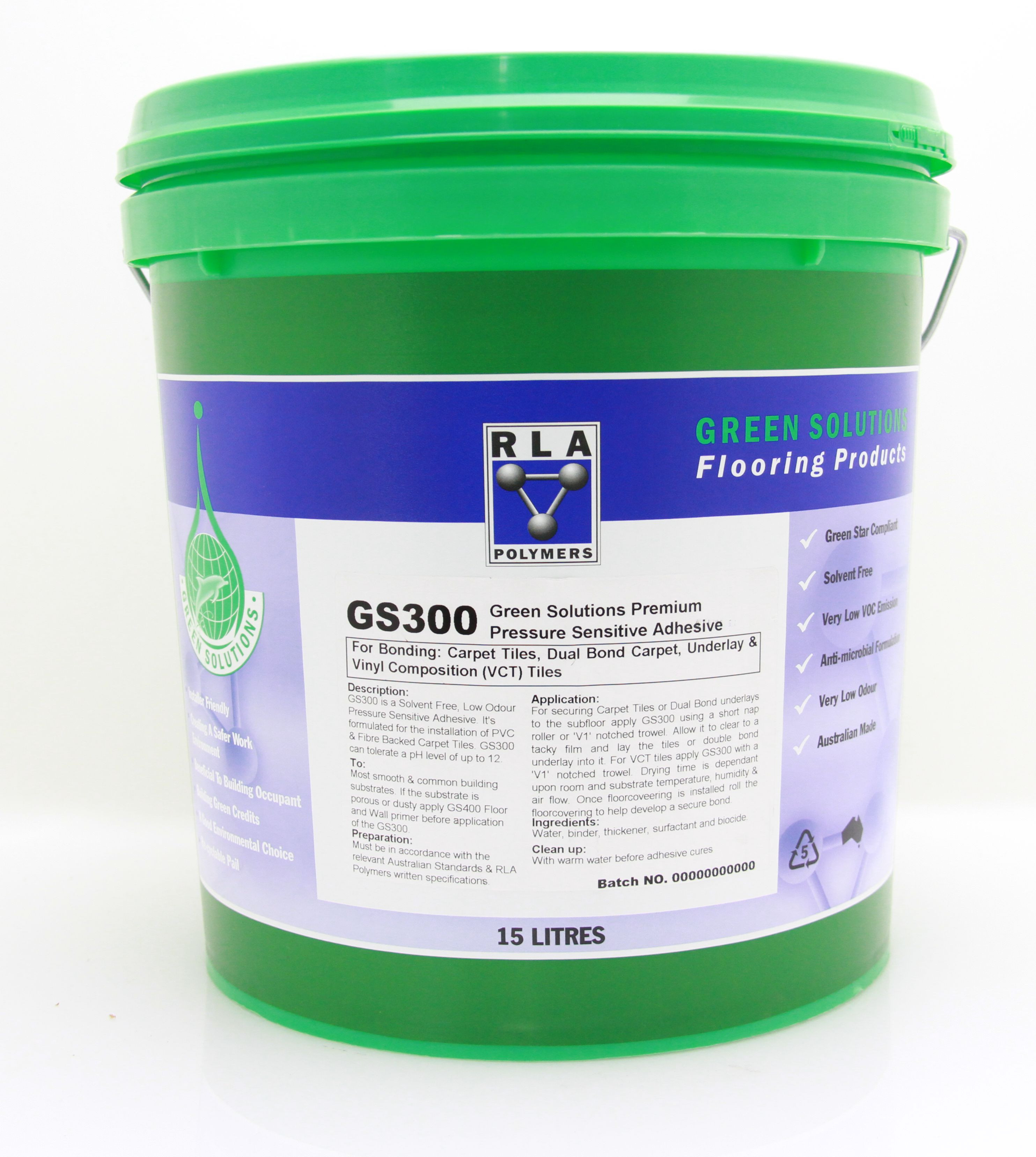 GS300 Commercial Pressure Sensitive Adhesive