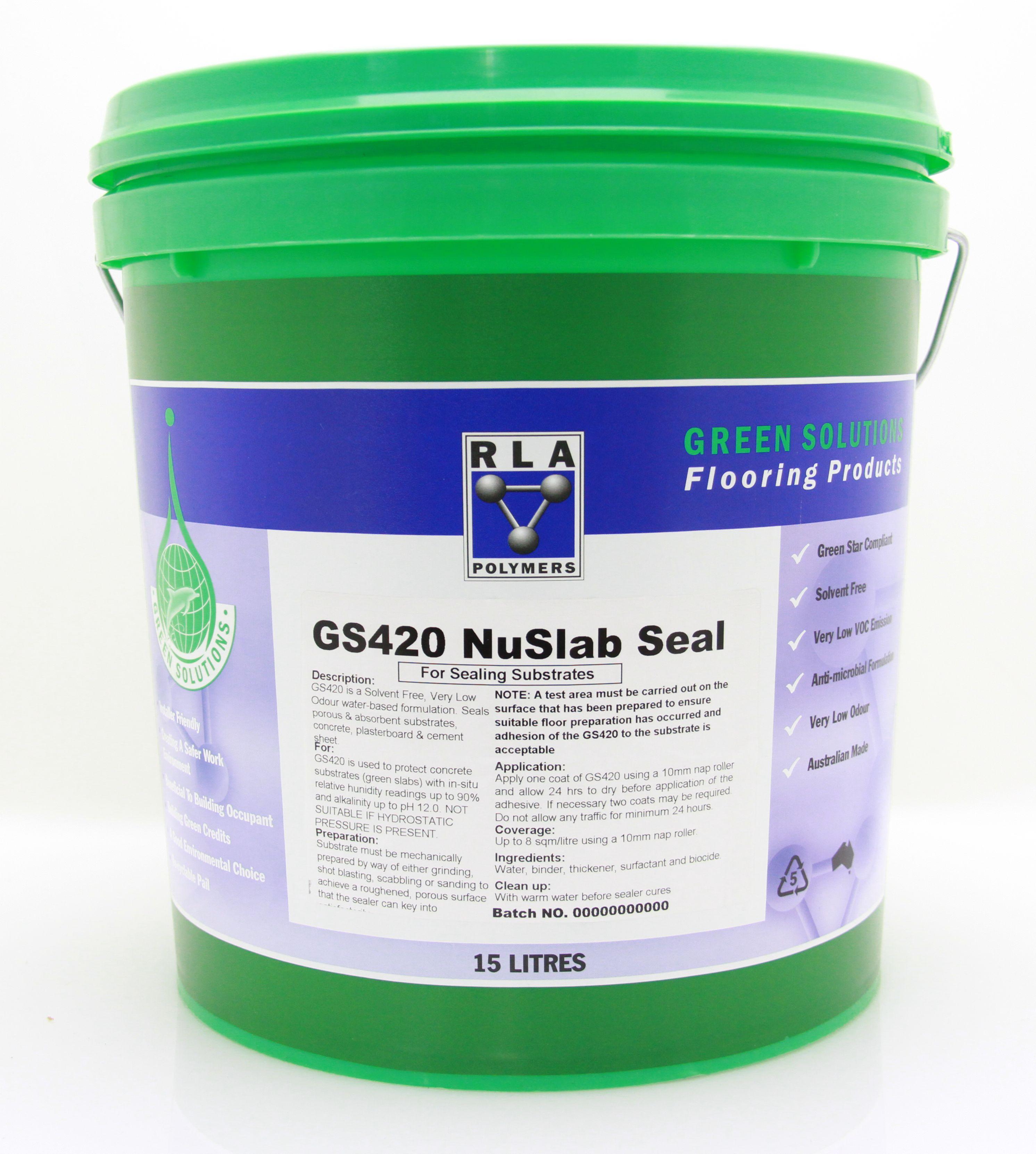 GS420 NuSlab Seal