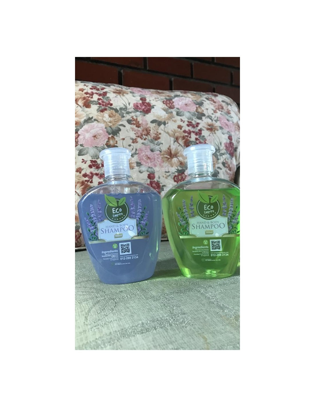 Hand and Body Shampoo with Green tea & Lavender Fragrance
