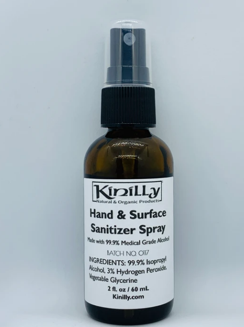 Hand Sanitizer Spray - Hand & Surface Sanitizer with Alcohol