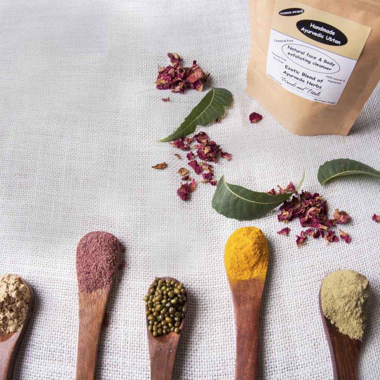 Handmade Ayurvedic Ubtan ( bath powder )I Body Scrub I Skin Cleanser I 2.64 oz