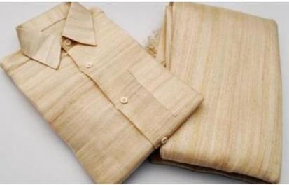 Handmade banana fiber fabric