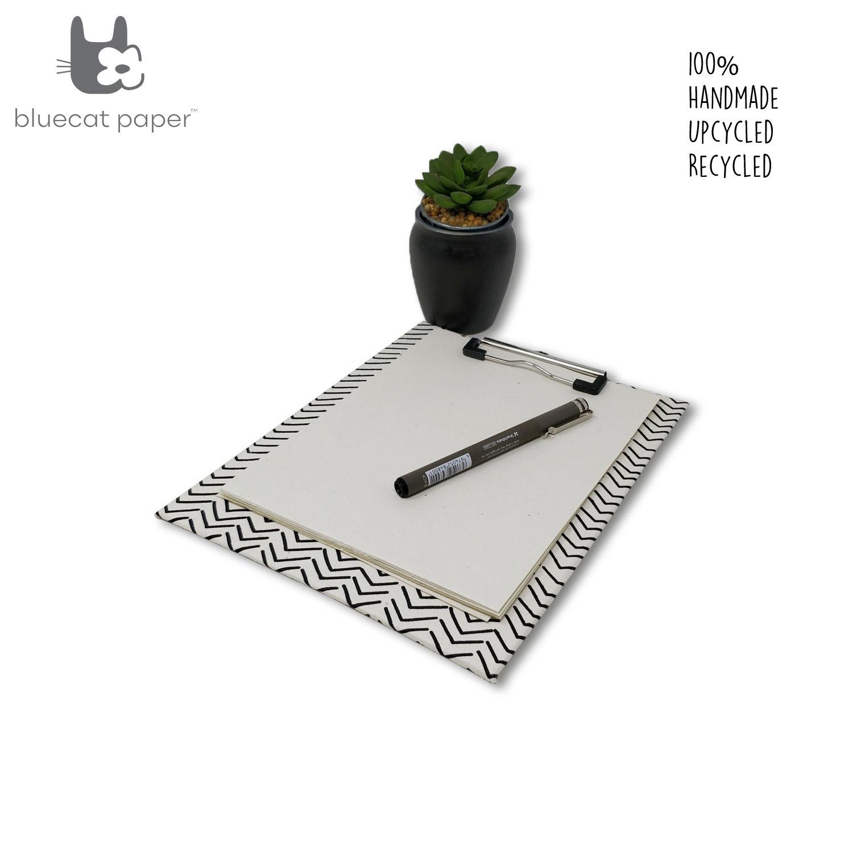 Handmade clip board white