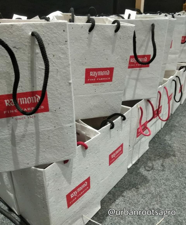 Handmade SeedPaper Bags