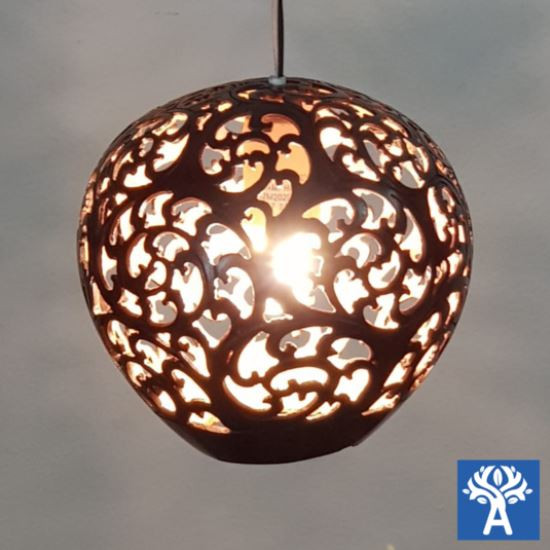 Hanging Gardens: Coconut Shell Lighting