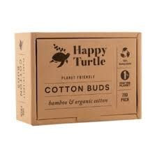 Happy Turtle Bamboo Cotton Buds