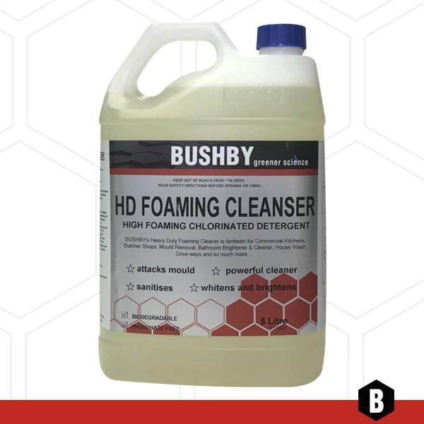 HD Foaming Cleanser – Detergent