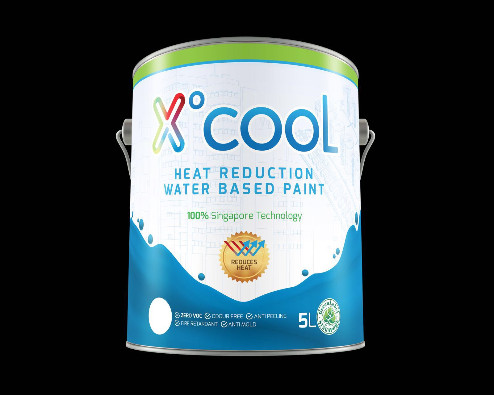 Heat Reduction Water Based Paints