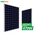 High Efficiency 5BB 470watt Single Solar Panel For Solar Power System