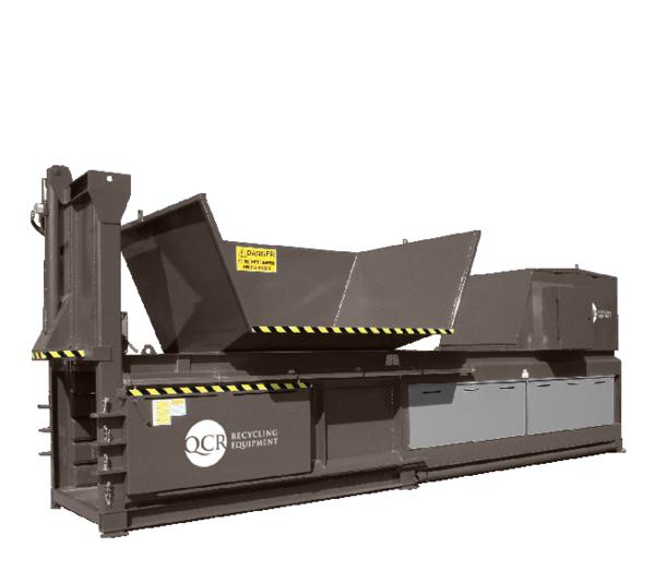Horizontal Waste Balers - QCR 800HZXL Horizontal Waste Baler