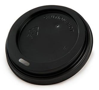 Hot Cup Lid – Black – 10-16oz/300-475ml