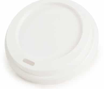 Hot Cup Lid – White – 10-16oz/300-475ml