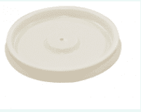 Hot Cup Lid – White / Ventilated – 4oz/120ml