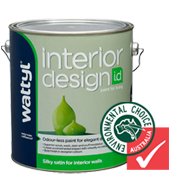 I.D SILKY SATIN INTERIOR WALL PAINT