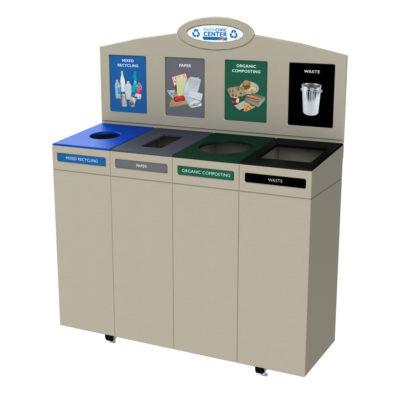 Indoor Recycling Bins