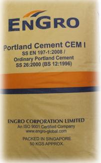 Integral Cement - CEM II/A-S, Portland Blastfurnace Cement (PBFC) P197A