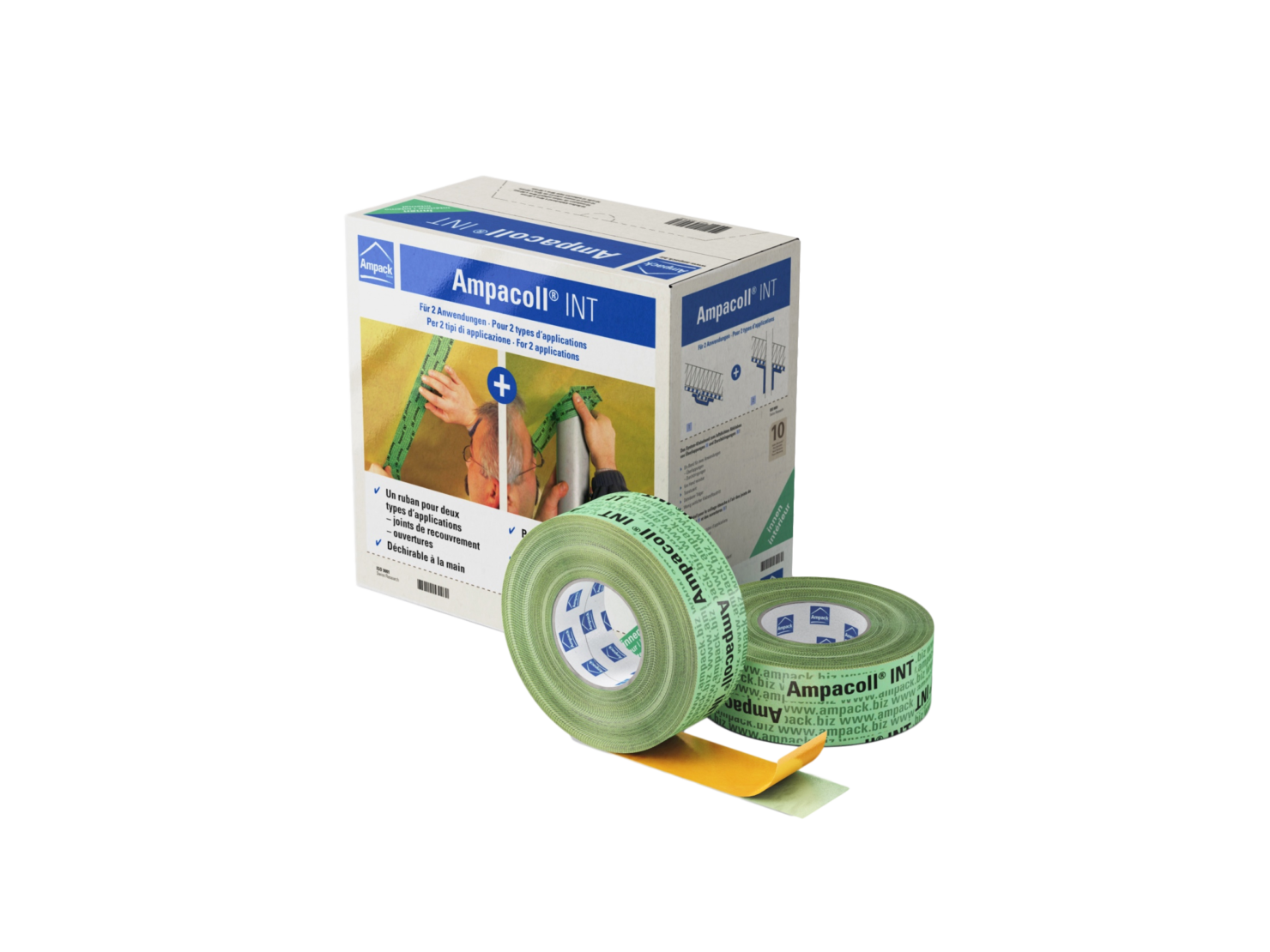 Interior Airtightness Tape – Ampacoll INT 60mm x 40m