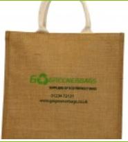 Jute Bags – Short Cotton Web Handle