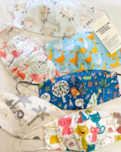 Kalikhasan (Nature) Inspired Washable and Reusable Face Masks with Cotton Pouch