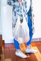Kitchen Essentials - Cotton Net Shopping Bag