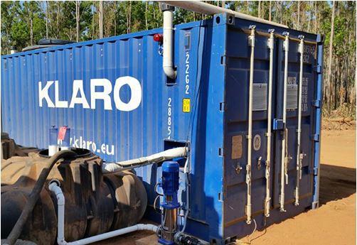 KLARO container.blue®