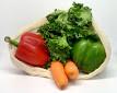 Large Organic Cotton Reusable Produce Bag