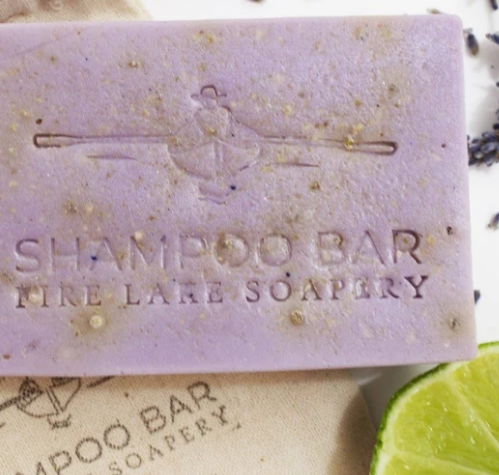 Lavender and Lime Shampoo Bar Soap