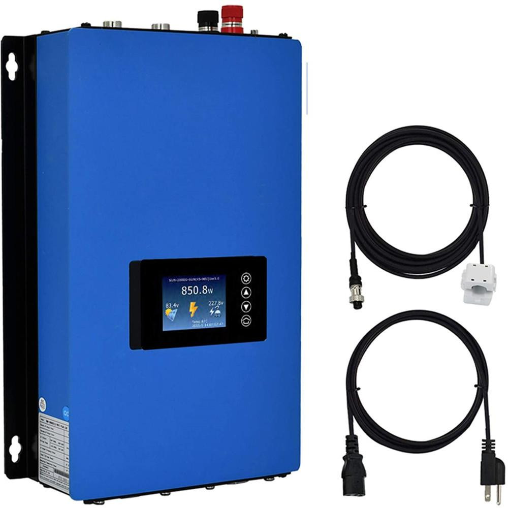 LCD Display MPPT Grid Tie DC 22-65V Auto Switch Inverter