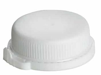 LDPE Bottle Tamper Proof Lid – White
