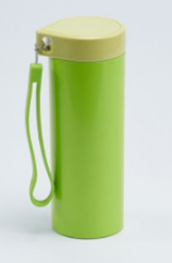Leaf Shape Lid Portable Cup