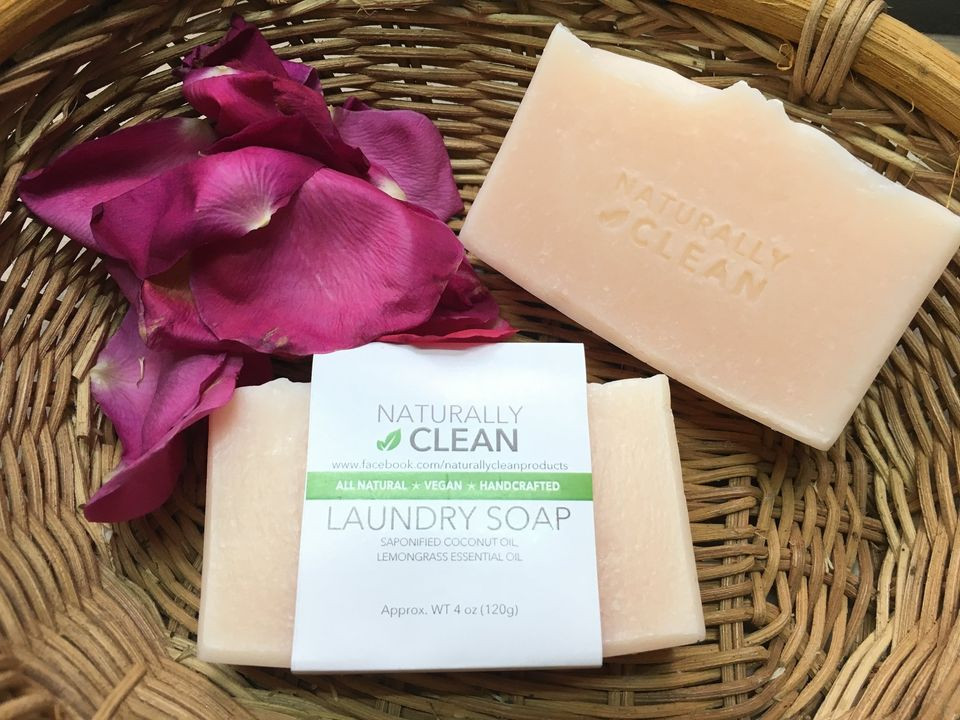 Lemon Lemongrass Laundry soap
