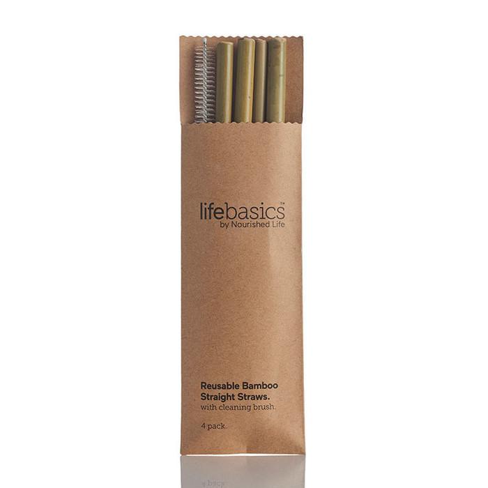 Life Basics Bamboo Straws