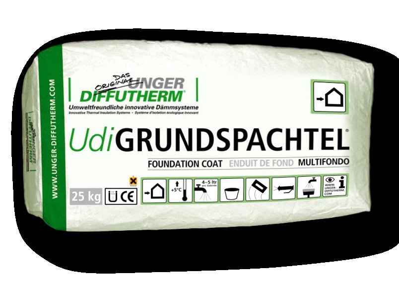 Lime Basecoat Render for Wood Fibre Insulation – UdiFOUNDATION COAT