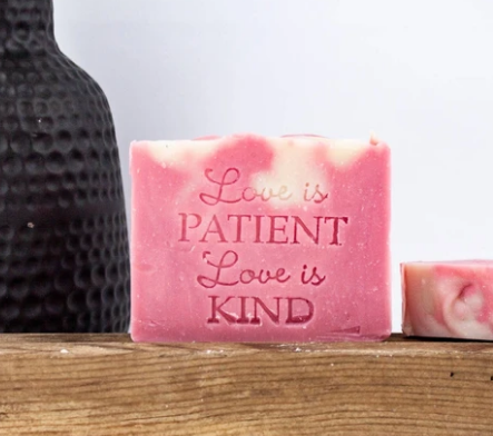 Love is Patient ~ Love is Kind Bar Soap
