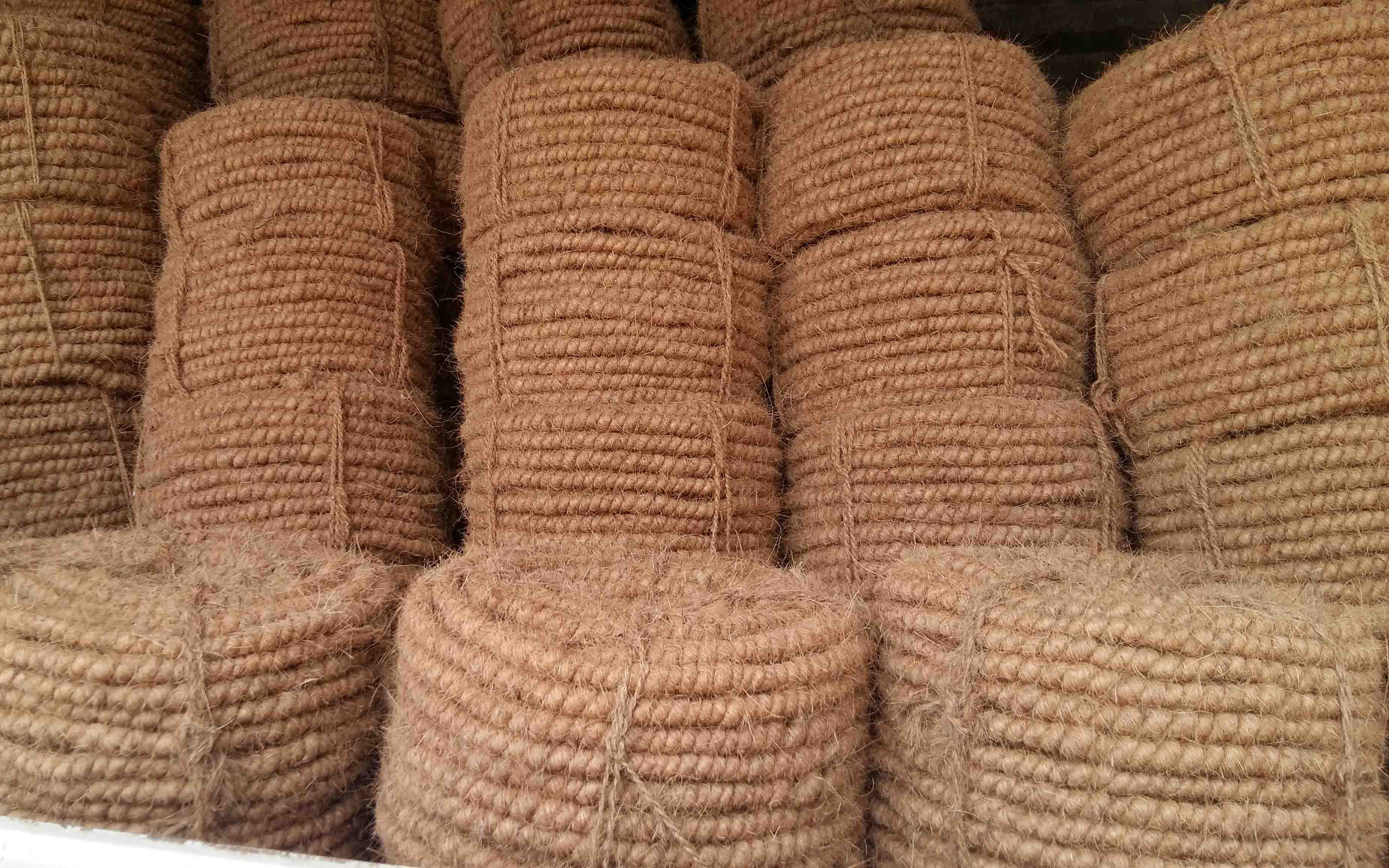 Machined Twisted Fiber(FMT) / Coir Rope A Coir Production by Colombo Quality Products
