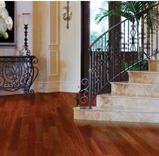 Mahogany Parquet Flooring