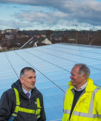 Make the most of Solar on your Large Roof
