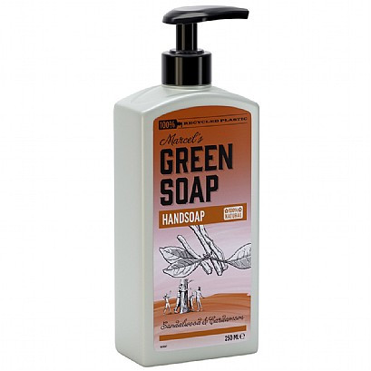Marcel's Green Soap Handsoap Sandelwood & Cardamom
