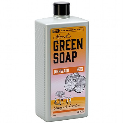 Marcel's Green Soap Washing Up Liquid Orange & Jasmine