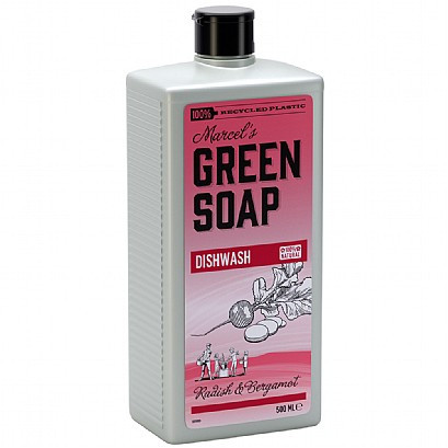 Marcel's Green Soap Washing Up Liquid Radish & Bergamot