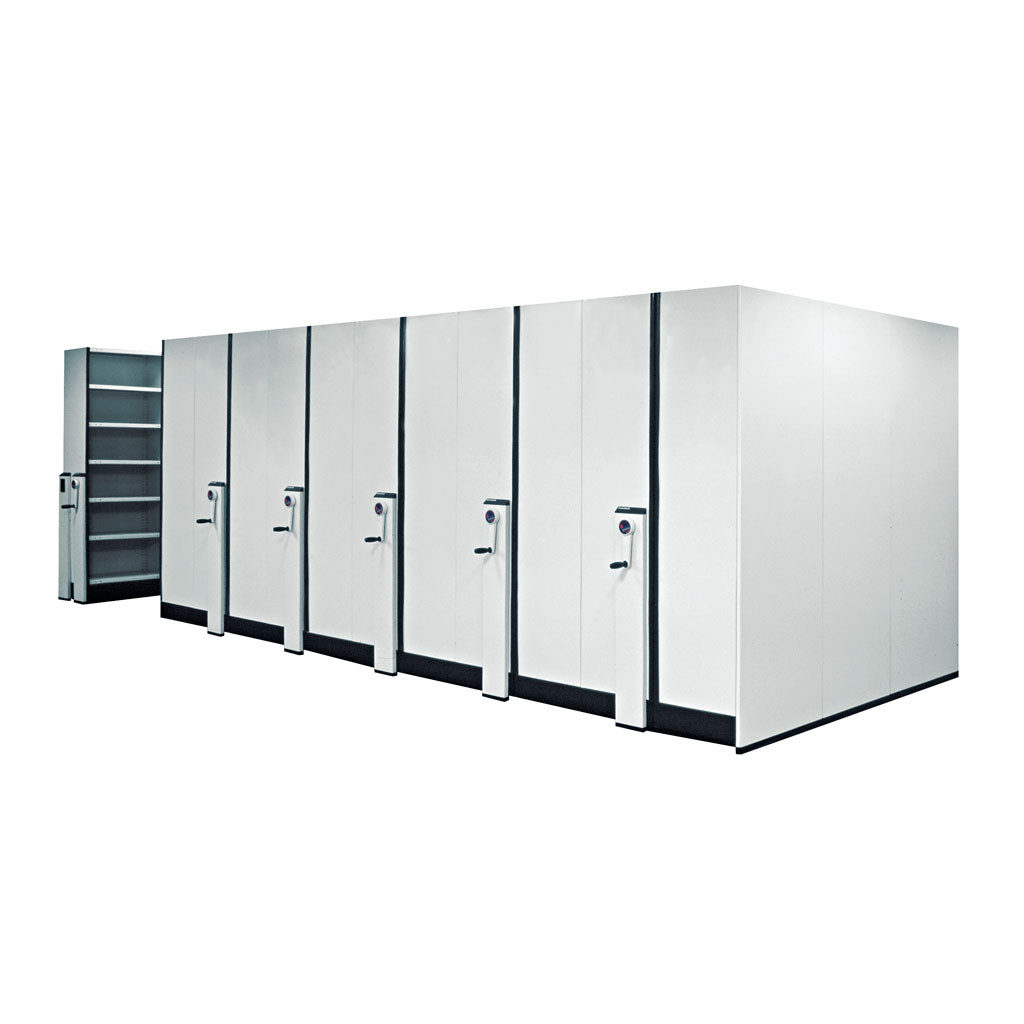 MAXTOR MECHANICALLY ASSISTED STORAGE SHELVING
