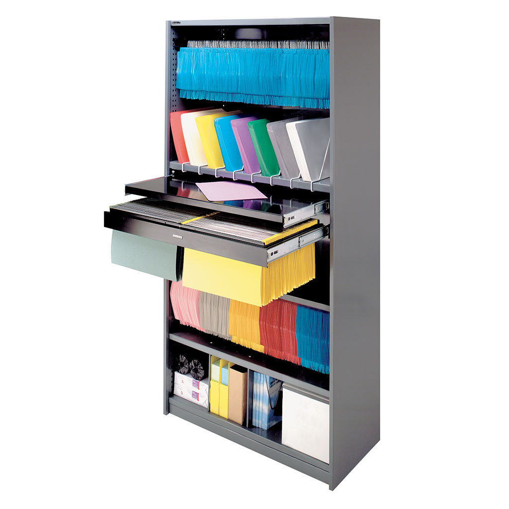 MAXTOR OFFICE STORAGE SHELVING