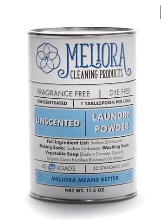 Meliora Laundry Powder, Unscented