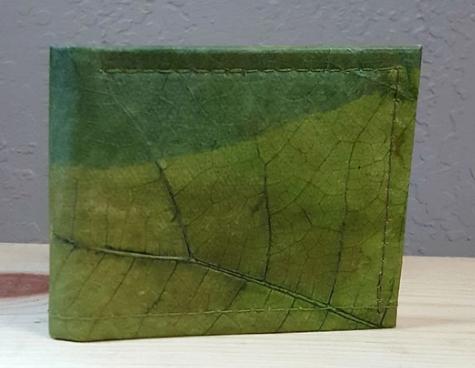 Men's Wallet - Leaf Leather