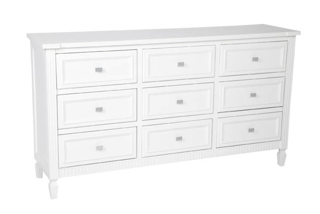 Merci Chest - White 160x42x88cmh