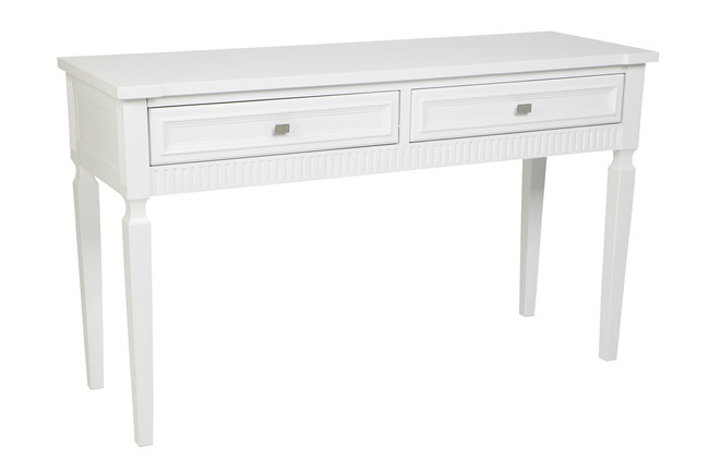 Merci Console Table - White 137x46x81cmh