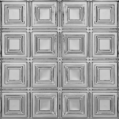 "METALLAIRE Small Panels Lacquered Steel 24"" x 24"