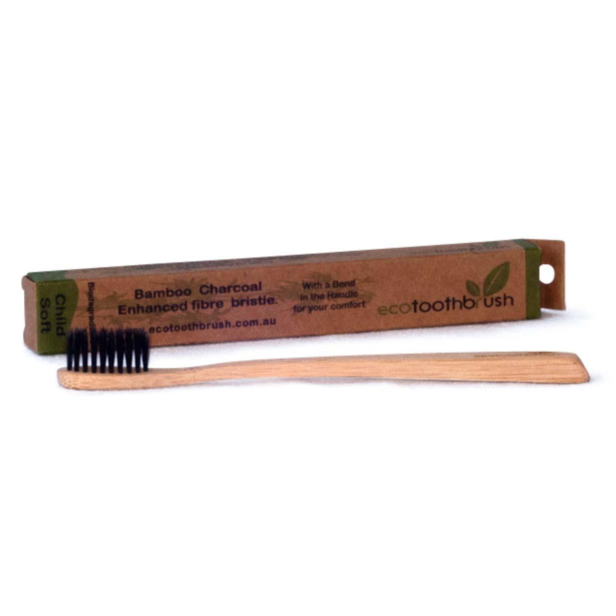 MiEco Bamboo Charcoal Enhanced Toothbrush – Adult